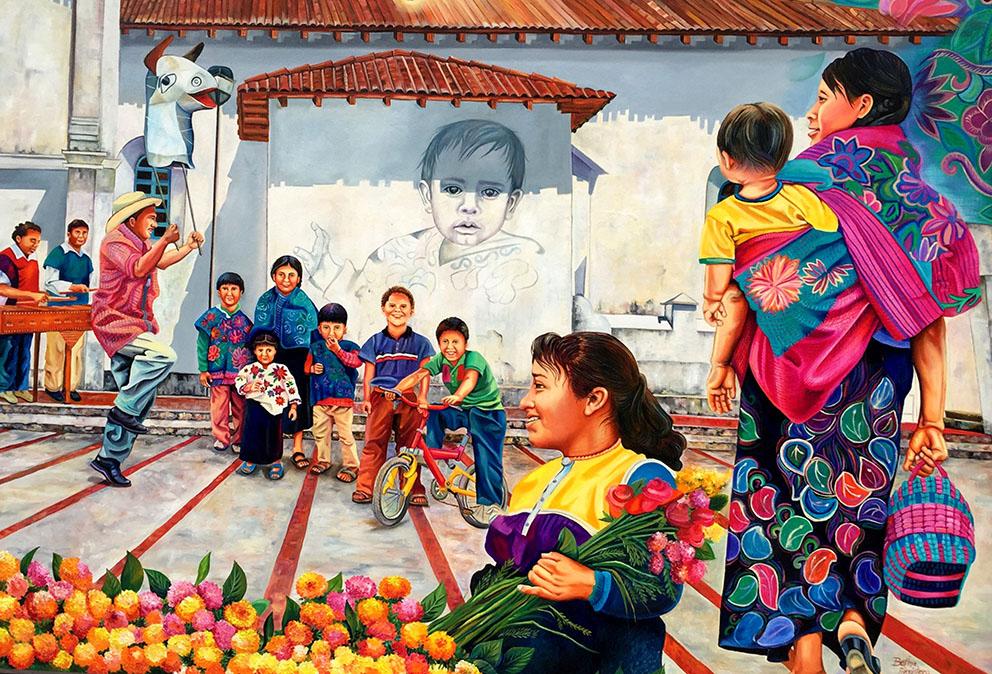 """ARTE SOBRE RUEDAS """"Fiestas, rituales y carnavales de Chiapas."""""""