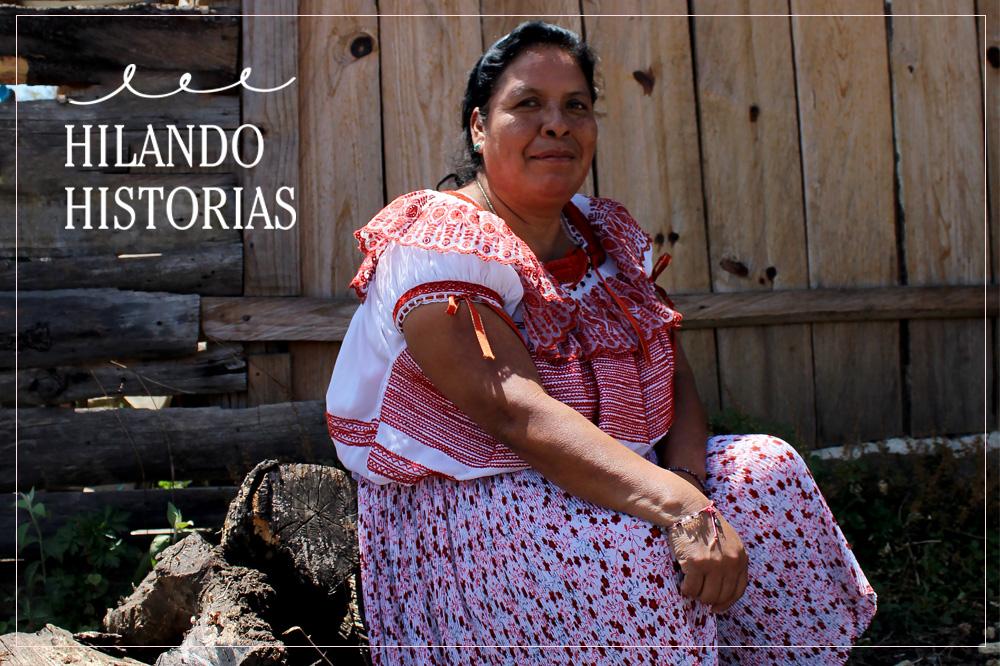 ZENAIDA AGUILAR. Venciendo adversidades, Aguacatenango, Chiapas.