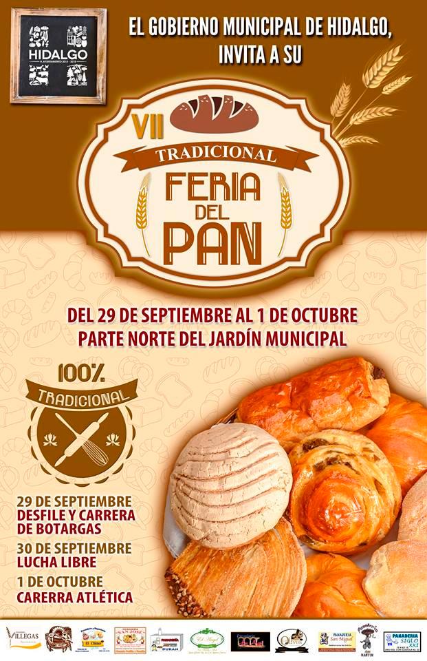 feria del pan Hidalgo 2018