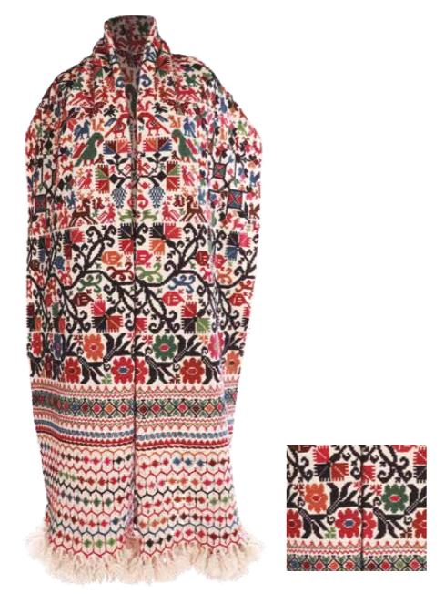 Poncho, Concurso Nacional de Textiles y Rebozo 2018