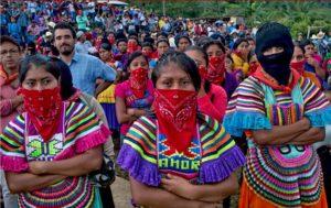 MUJERES INDÍGENAS ZAPATISTAS tienen un mensaje para el pueblo mexicano