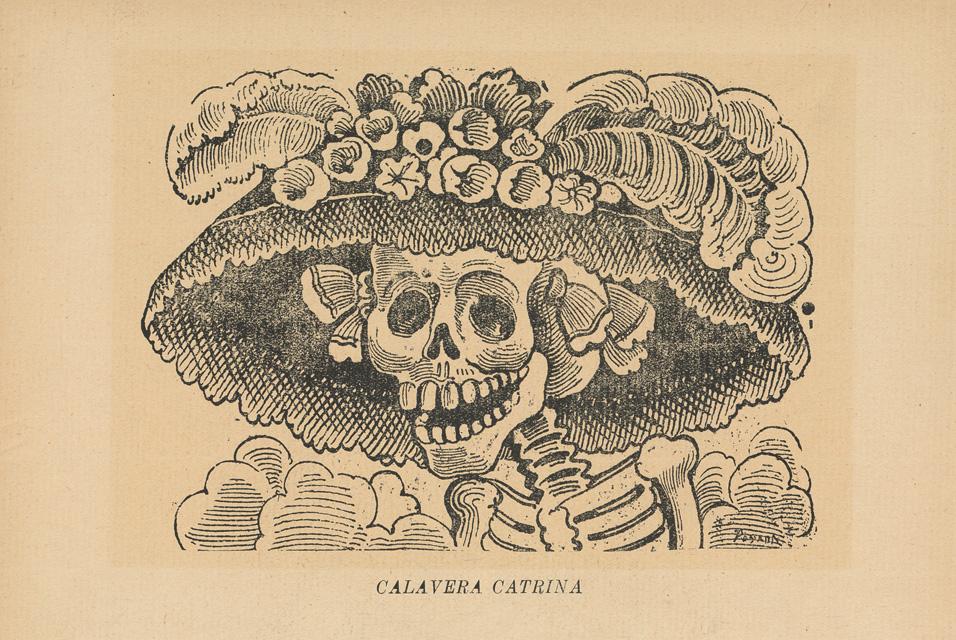 """¿Sabías que """"LA CALAVERA GARBANCERA» es el nombre original de La Catrina?"""