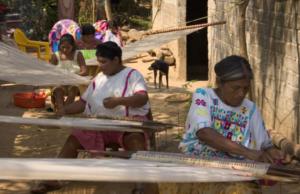 1er #HHTALLER. Tejido Tradicional Amuzgo en Telar de Cintura