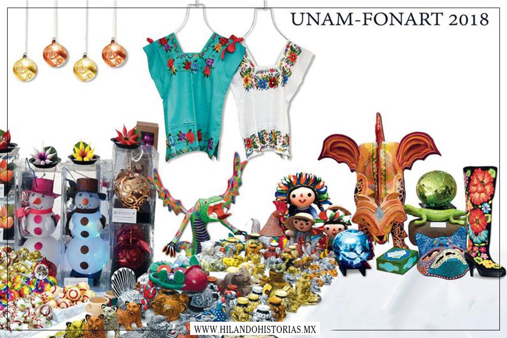 5ª Feria Artesanal UNAM-FONART 2018