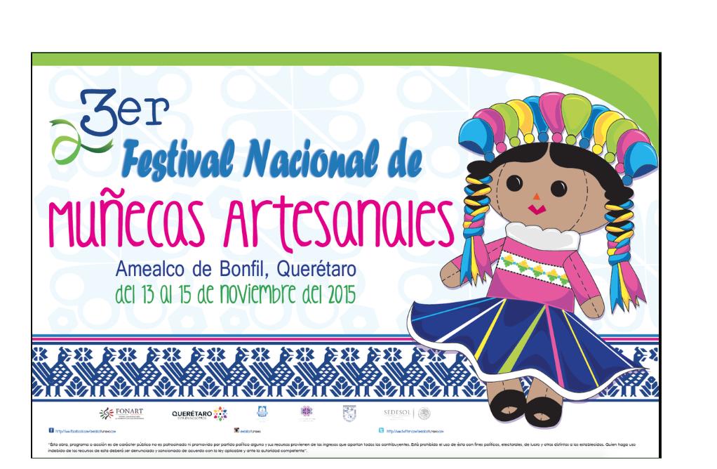 3er Festival Nacional de Muñecas Artesanales